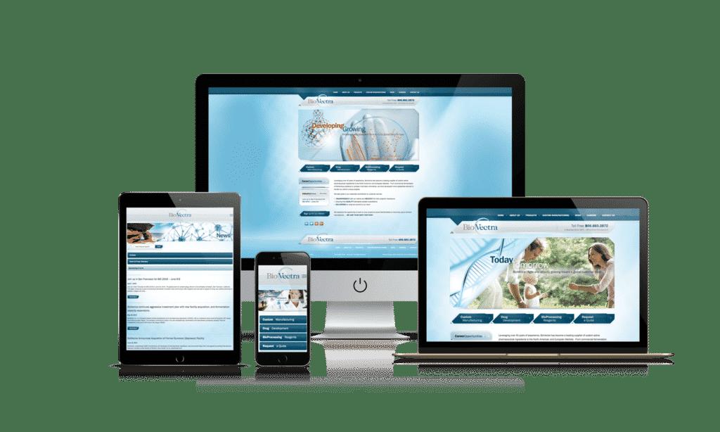 Mobile Website Branchville