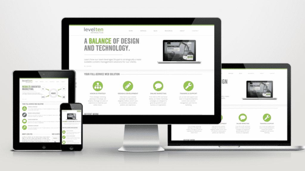 Mobile Website Interlaken