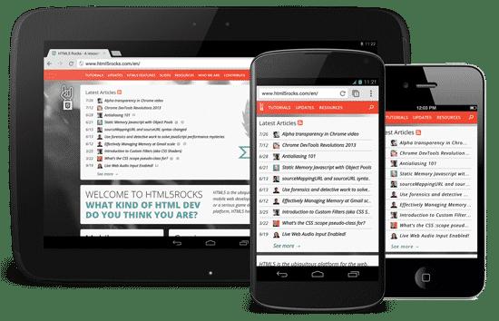 Mobile Website Mannington Township
