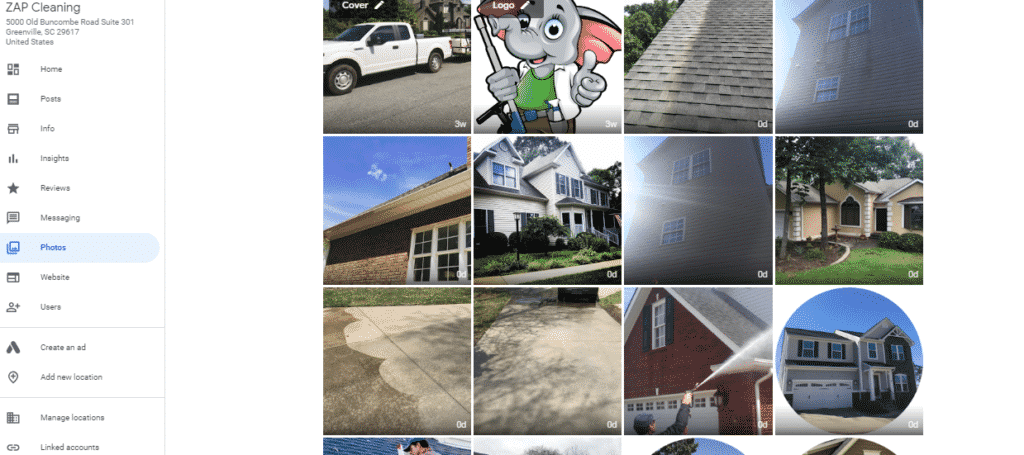 Power Washing Search Advertising