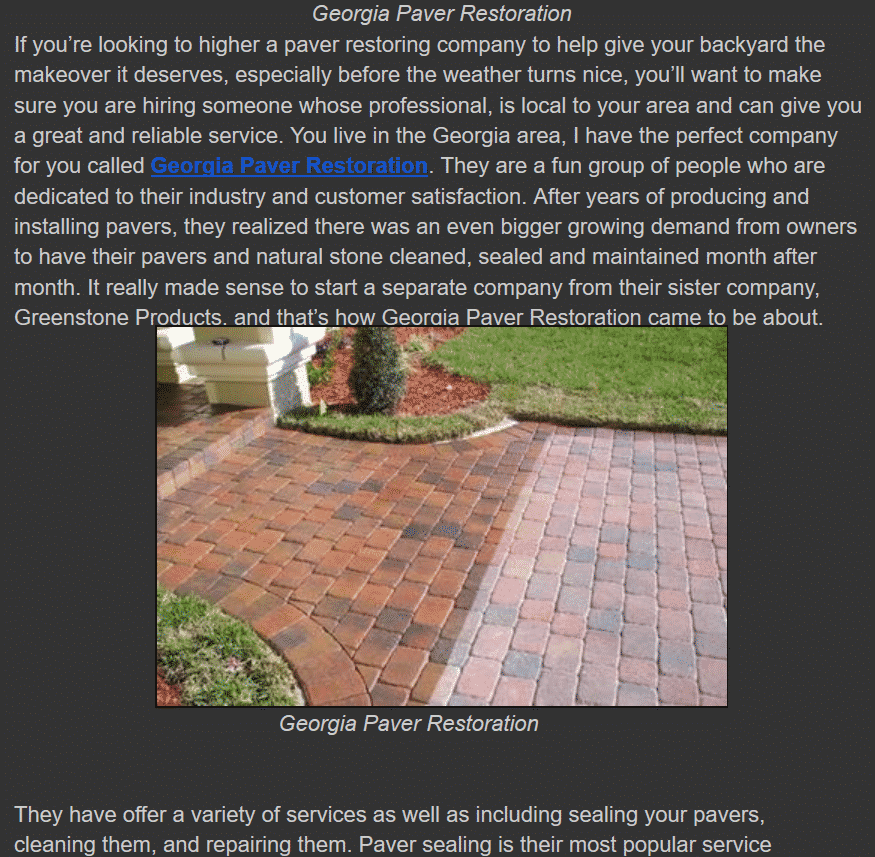 Social Media Marketing & Public Relations Paver Company